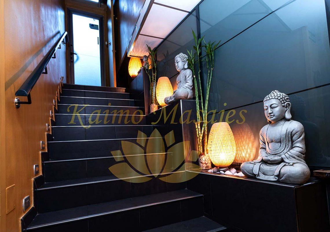 decoración centro de masajes relax